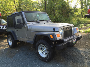 2000 JEEP WRANGLER 4CYL 5SPEED 150,000 MILES $5295