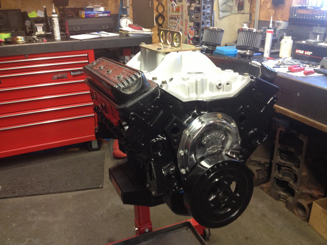 602 GM CRATE ENGINE COMPLETELY REBUILT
